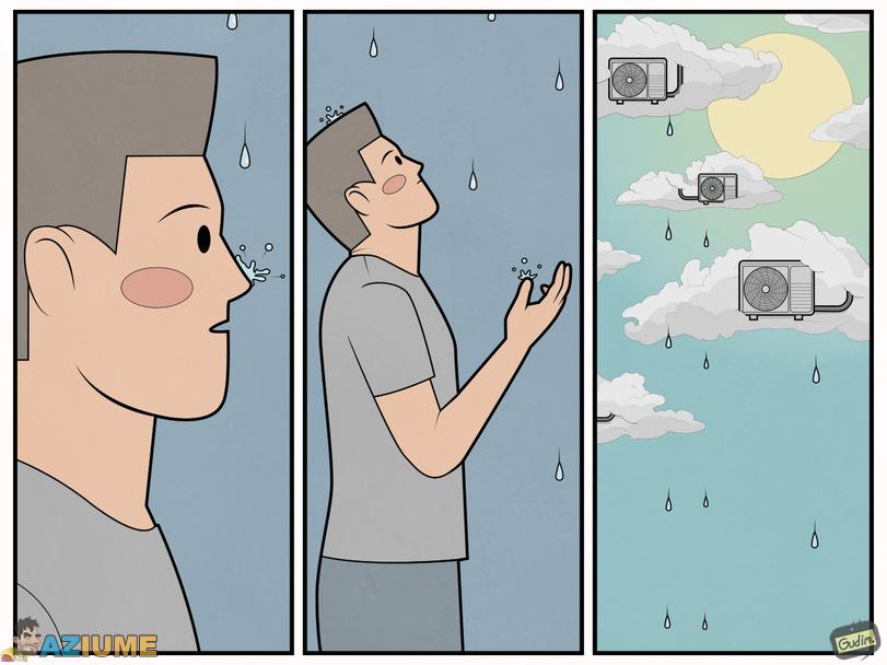 Como funciona a chuva