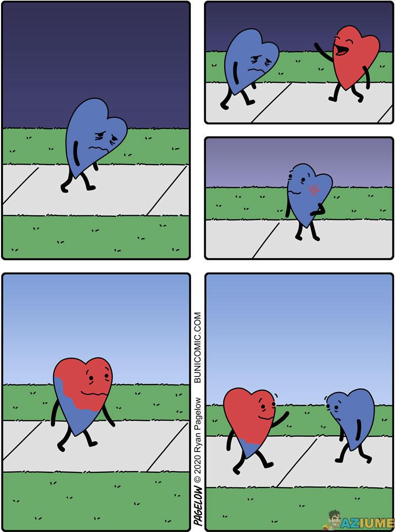 Como funciona a felicidade do coração