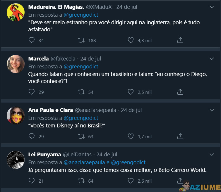 No Brasil tem asfalto? Confira as perguntas mais estranhas que brasileiros já ouviram dos gringos