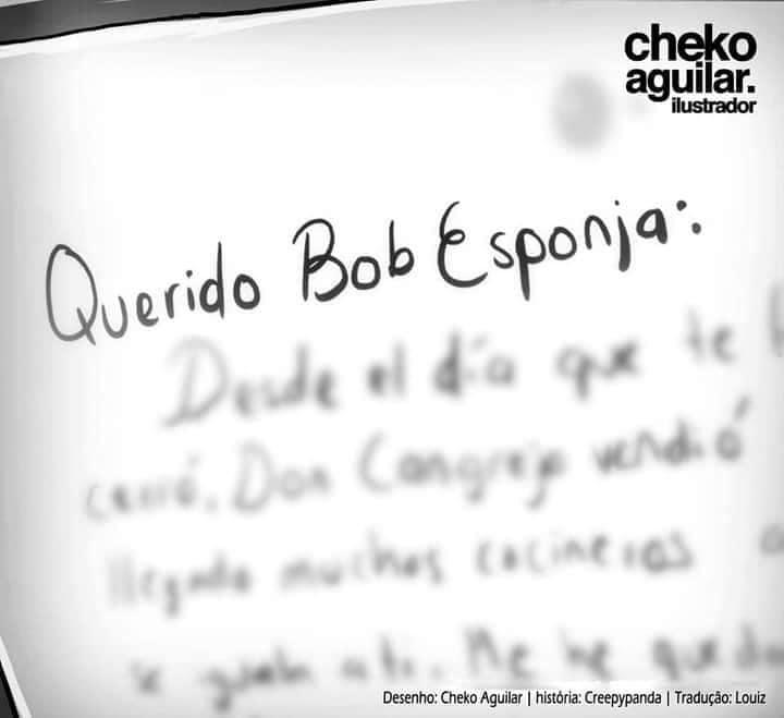 Querido Bob Esponja...