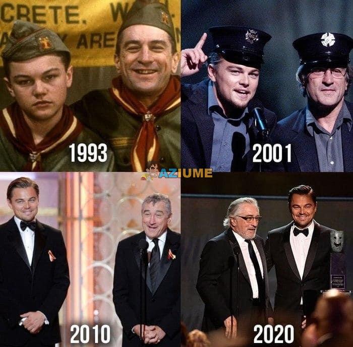 Através de mim: Leonardo DiCaprio e Robert De Niro