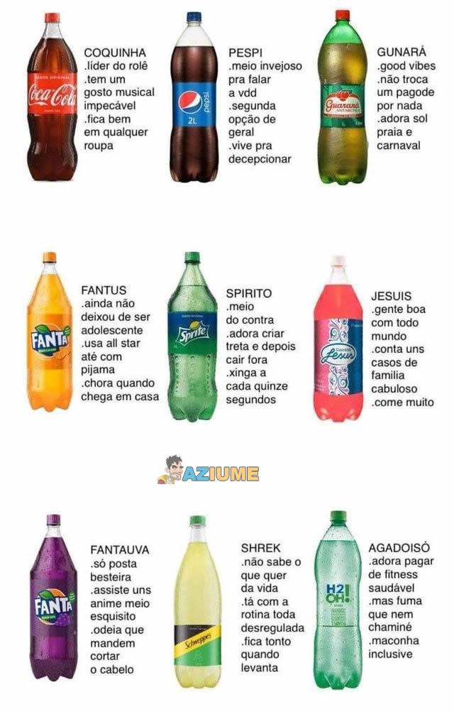 Que tipo de refrigerante é você?