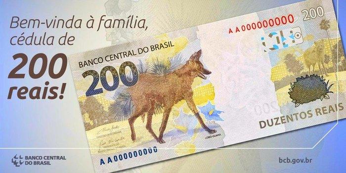 A internet e suas novas versões da nota de R$ 200