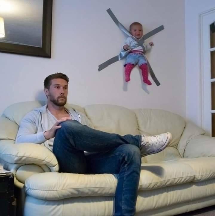 Quando é a vez do papai cuidar do filho