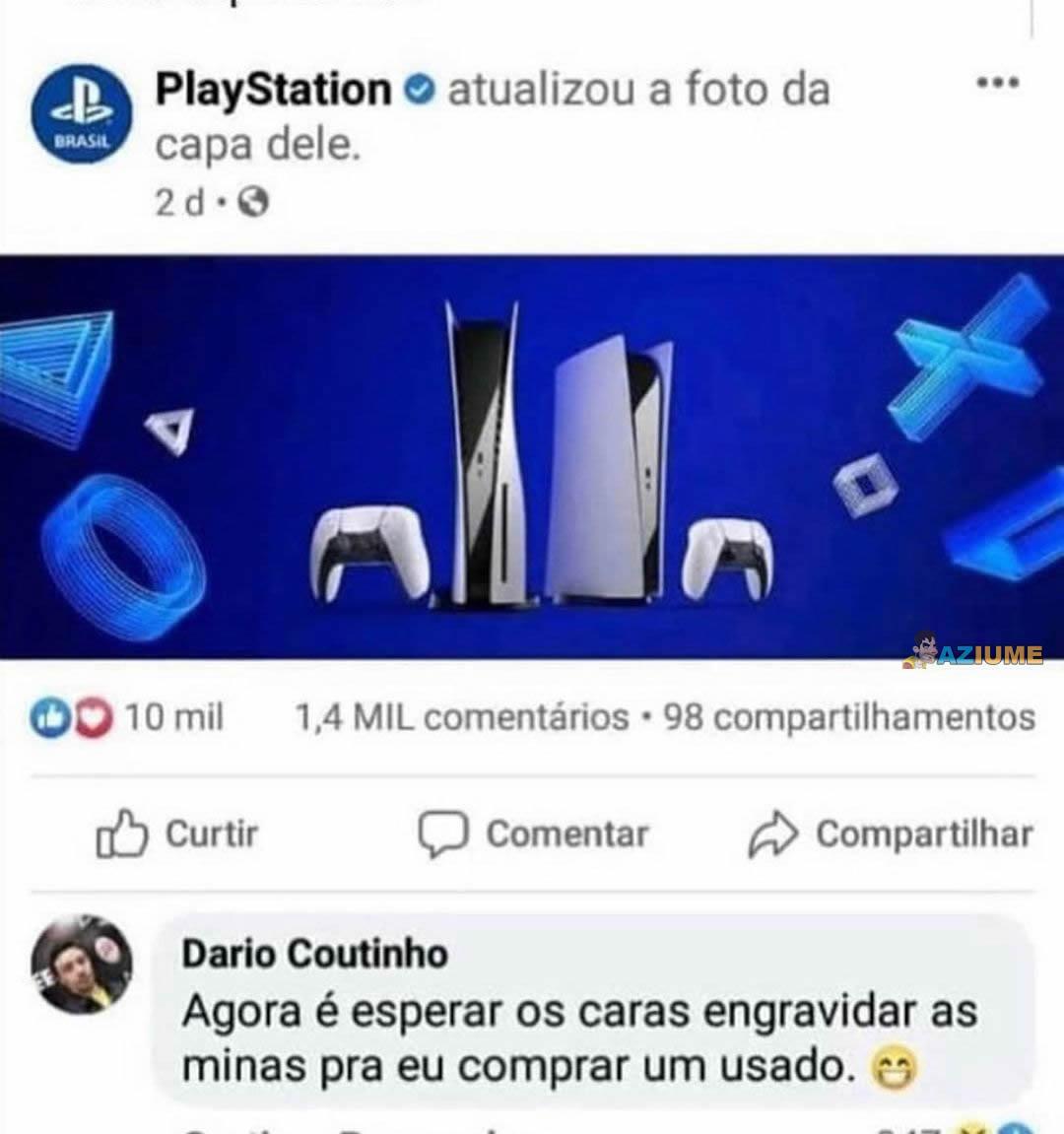 Como comprar um Playstation
