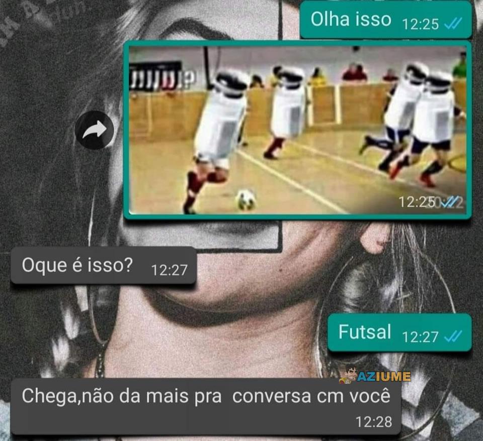 Conheça o Futsal: Chega de internet por hoje