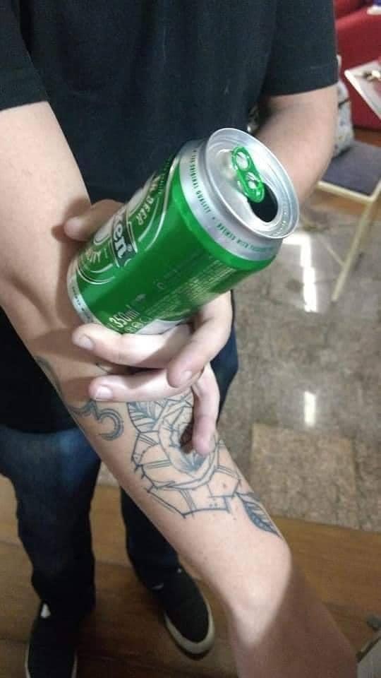 E de que tamanho você quer sua tatuagem?