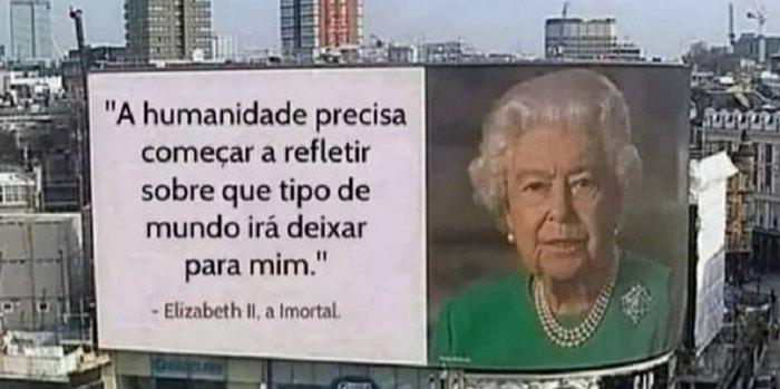 Os melhores memes da Rainha da Inglaterra