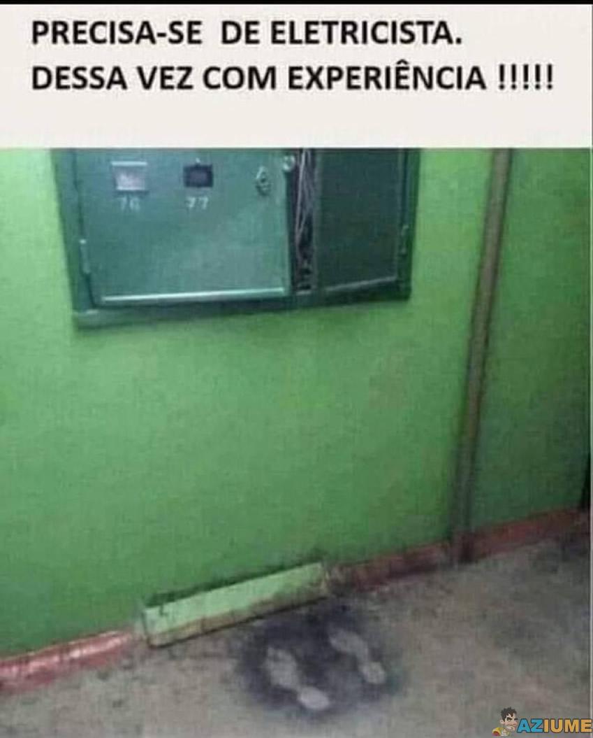 Precisa-se de eletricista