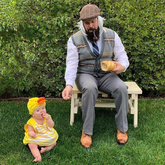 Papai leva fotos do Instagram com a filha para o próximo nível