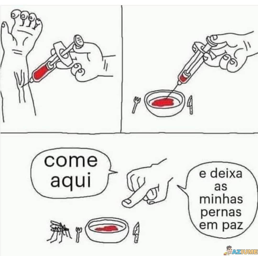 Como alimentar mosquitos