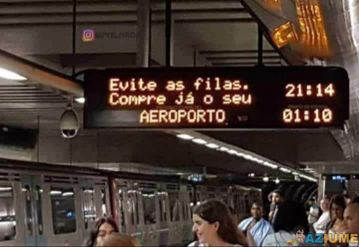 Pra quê sofrer em filas se você pode ter seu próprio aeroporto?