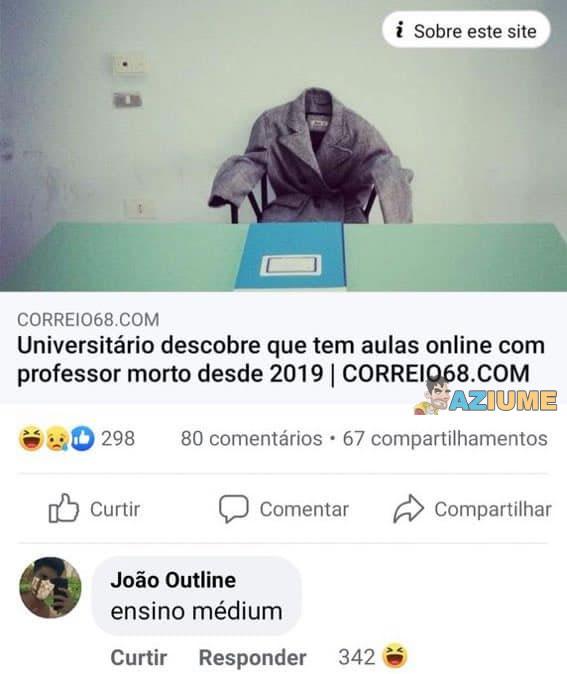 No Brasil tem de tudo hoje em dia