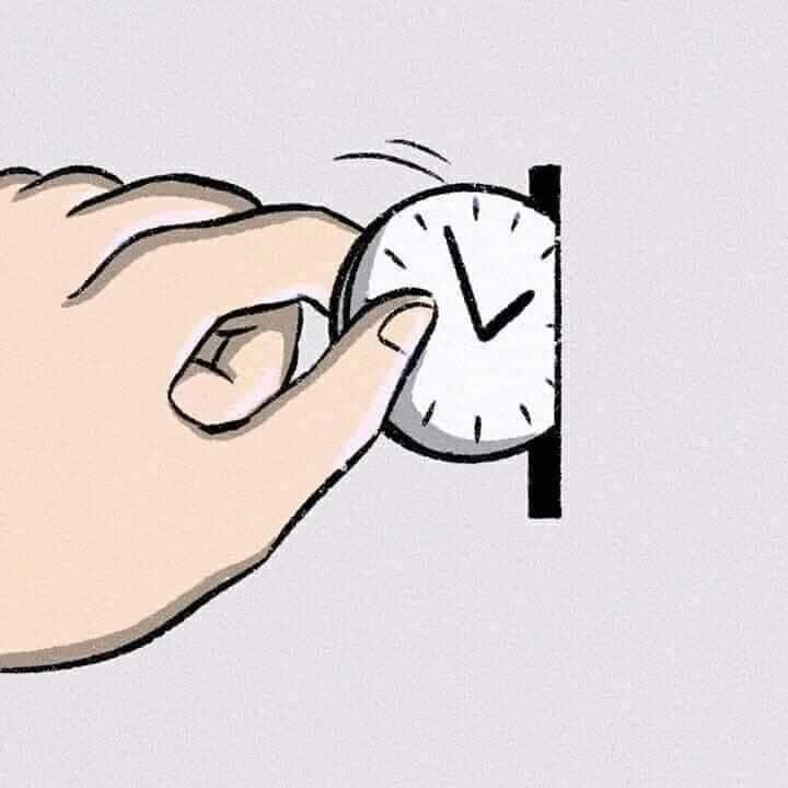 Quadrinho: O tempo