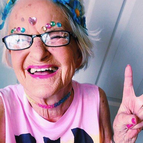 A velhice não é idade, mas um estado de espírito