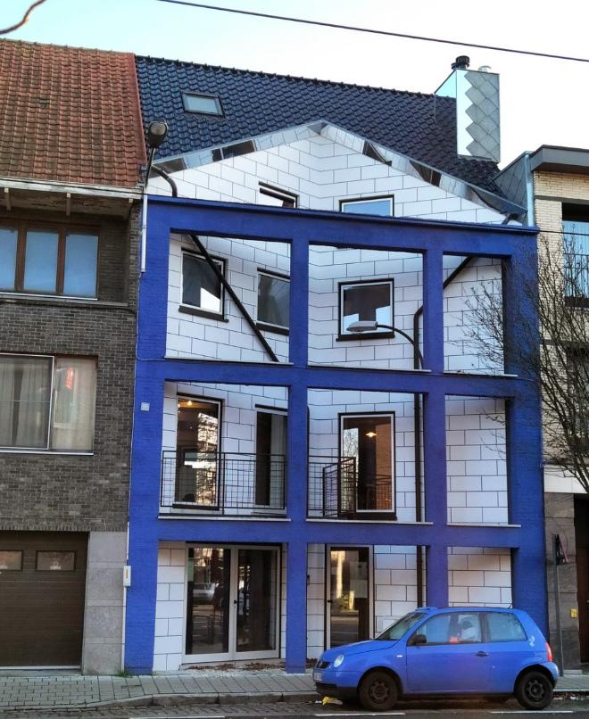 22 casas belgas feias e estranhas
