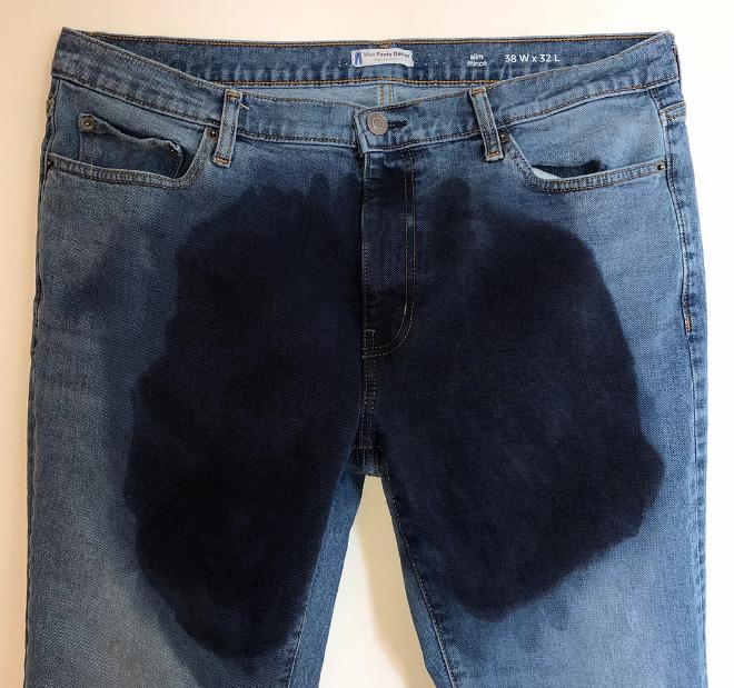 Esta empresa vende jeans que parecem que você se mijou