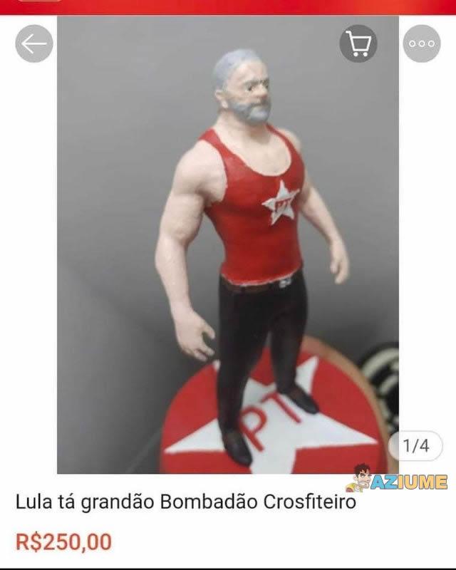Lula crosfiteiro