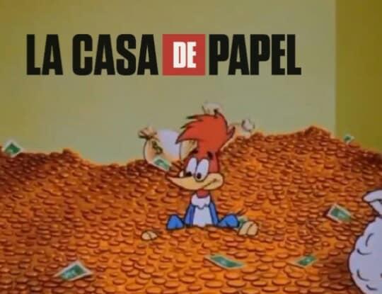Pica pau versão séries