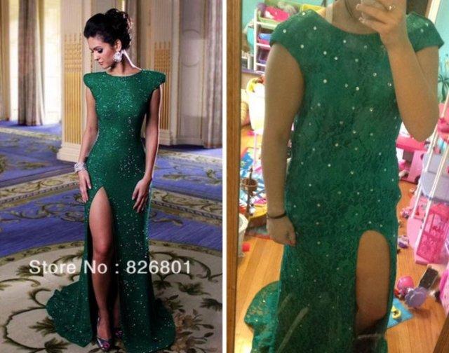 Quando se compra um vestido na internet: Expectativa e realidade