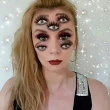 44 transformações com maquiagem: Ilusões de ótica