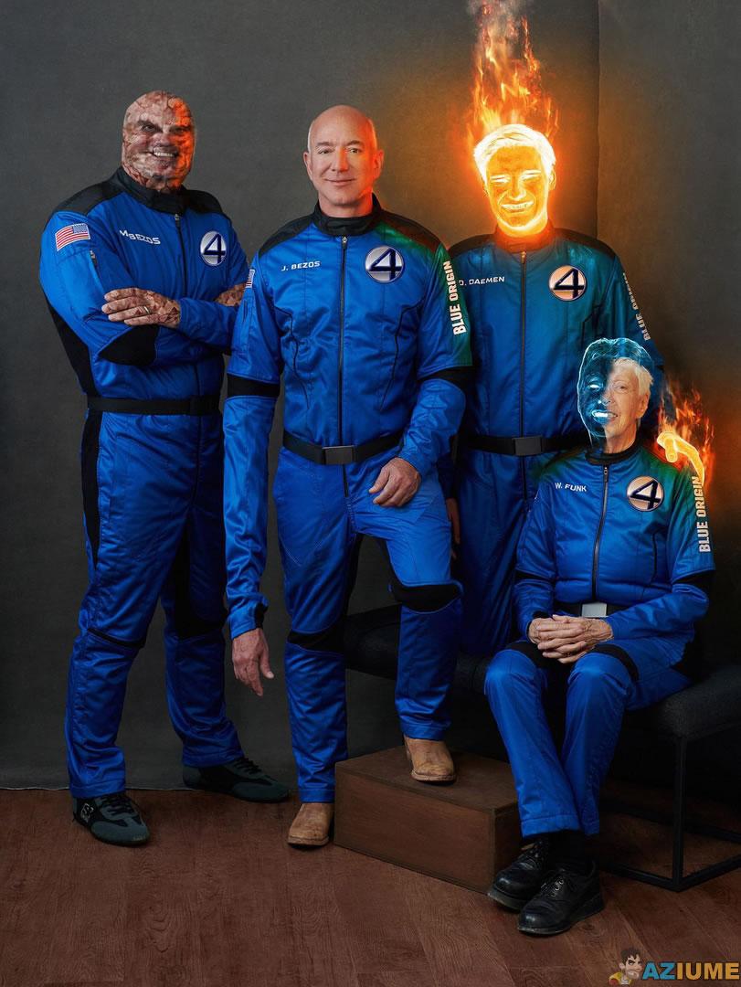 A verdadeira tribulação voo da Blue Origin