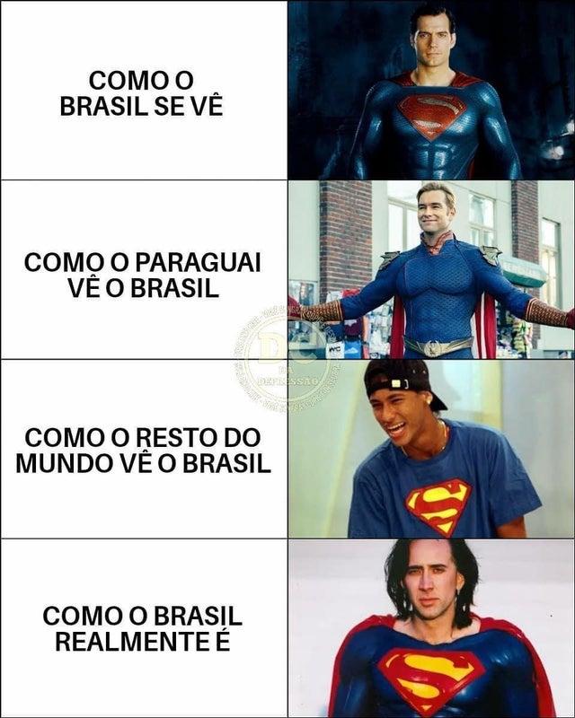 Como o Brasil se vê
