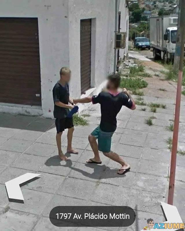 Mais um dia normal no Google Maps Brasil